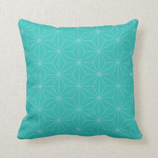 Leaf pattern Japan of the Japanese traditional pat Throw Pillows