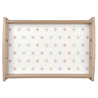 Leaf pattern Japan of the Japanese traditional pat Serving Platter