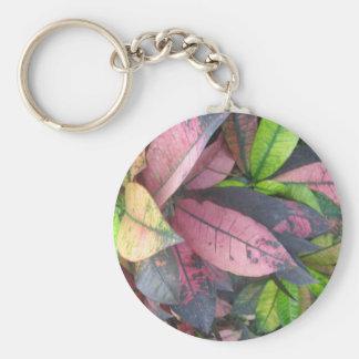 Leaf Pattern Keychain