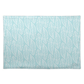 Leaf Pattern No.1 - Colour Blue Placemat