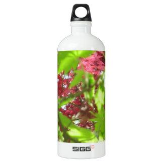 Leaf Pattern Water Bottle