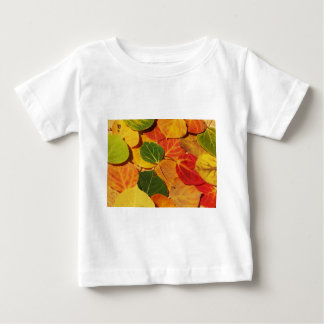 Leaf Patterns Baby T-Shirt