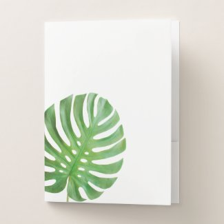 Leaf Pocket Folder (pack of 5)
