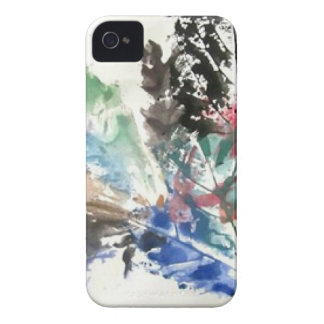 Leaf Print by SamspirationArt iPhone 4 Cover