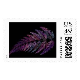 Leaf-Purple Postage