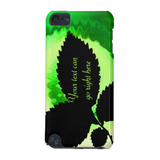 Leaf Silhouette iPod Case