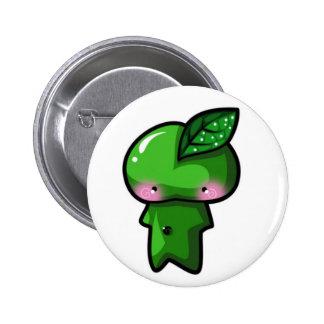 Leaf Sprite 2 Inch Round Button