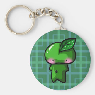Leaf Sprite Basic Round Button Keychain