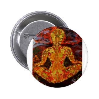 Leaf Sprite Meditating Button
