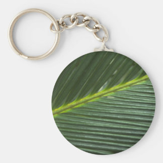 Leaf texture key chains