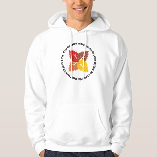 Leaf That Doesn't Know Hoodie