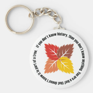 Leaf That Doesn't Know Key Chain