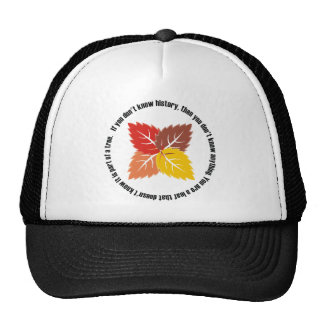 Leaf That Doesn't Know Trucker Hats
