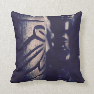 Leaf Through Throw Pillow