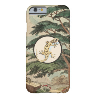 Leaf-Toed Gecko In Natural Habitat Illustration Barely There iPhone 6 Case