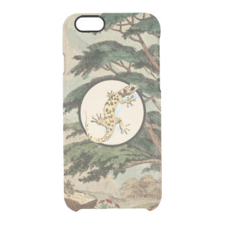 Leaf-Toed Gecko In Natural Habitat Illustration Uncommon Clearly™ Deflector iPhone 6 Case