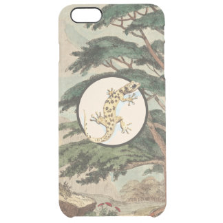 Leaf-Toed Gecko In Natural Habitat Illustration Uncommon Clearly™ Deflector iPhone 6 Plus Case