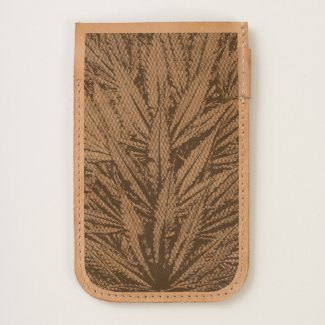 Marijuana Leaf Leather iPhone 6/6s Case - Legal Cannabis Day