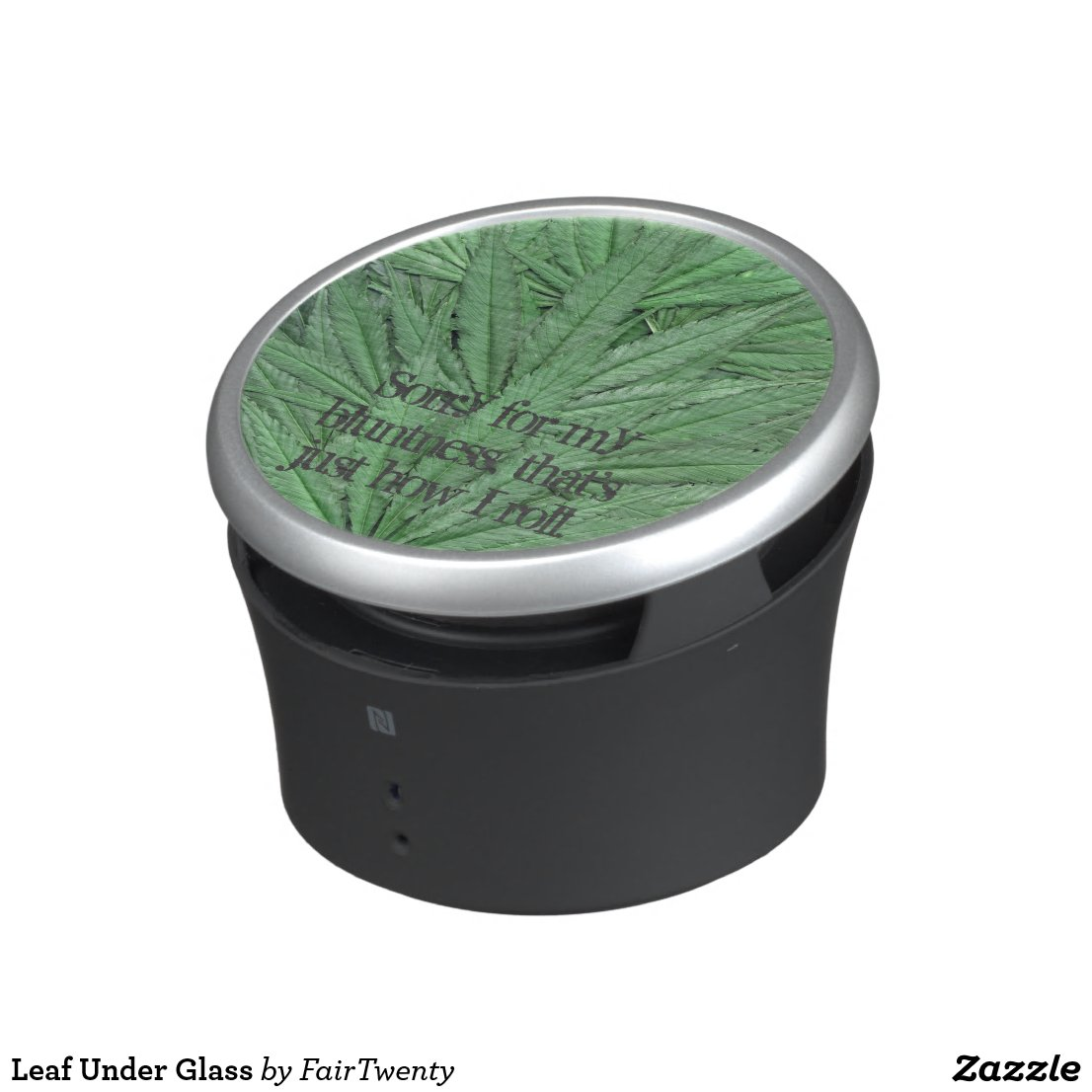 Marijuana Leaf Speaker - Legal Cannabis Day