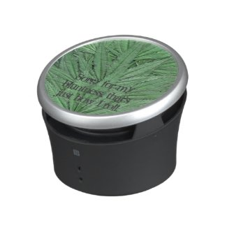 Marijuana Leaf Speaker - Legal Cannabis Day