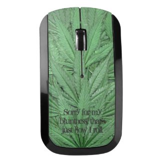 Marijuana Leaf Computer Mouse - Legal Cannabis Day