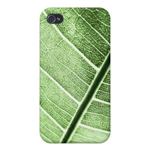 Leaf Vein Cover For iPhone 4