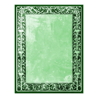 Leaf & Vine Border Scrap & Craft Paper green mint