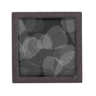 Leaf X-Ray Jewelry Box
