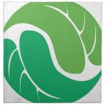 Leaf Yin Yang Cloth Napkins