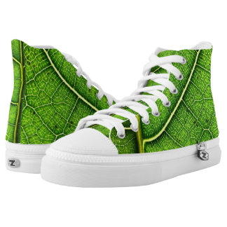 Leaf Zipz High Top Shoes