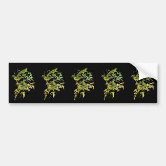 Leafbird De oro-afrontado Pegatina Para Auto