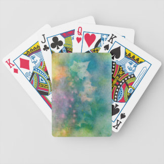 leafburst bicycle playing cards