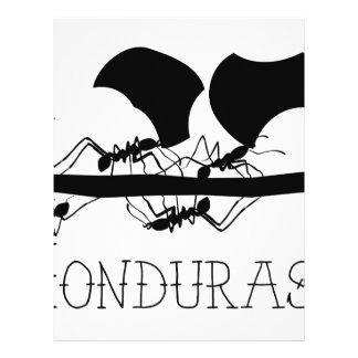 Leafcutter Ants Honduras Letterhead
