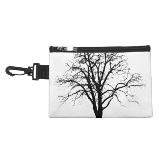 Leafless Tree In Winter Silhouette Accessories Bags