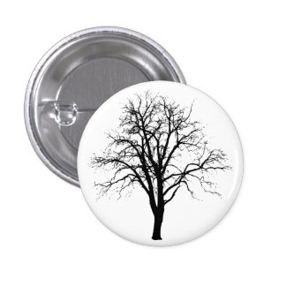 Leafless Tree In Winter Silhouette Pins