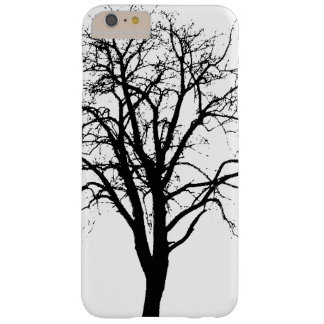Leafless Tree In Winter Silhouette Barely There iPhone 6 Plus Case
