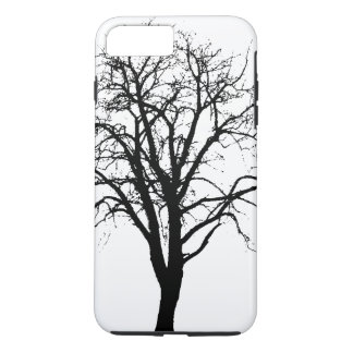 Leafless Tree In Winter Silhouette iPhone 8 Plus/7 Plus Case