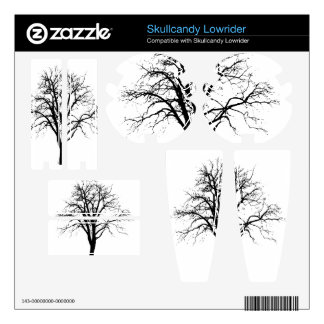 Leafless Tree In Winter Silhouette Decal For Skullcandy