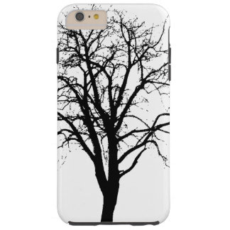 Leafless Tree In Winter Silhouette Tough iPhone 6 Plus Case