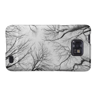 Leafless Trees in Thiepval Wood Samsung Galaxy SII Cover