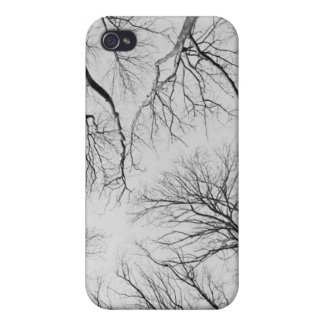 Leafless Trees in Thiepval Wood iPhone 4 Cover