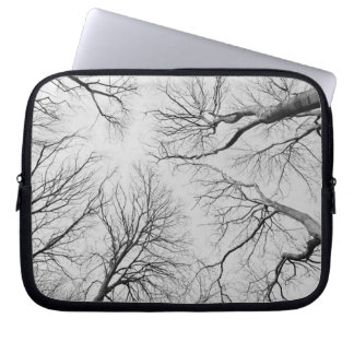 Leafless Trees in Thiepval Wood Laptop Sleeve