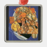 Leafs by Juan Gris Christmas Tree Ornament