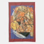 Leafs by Juan Gris Hand Towels