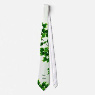Leafy Best Man Tie