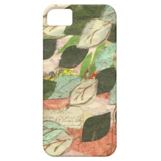 Leafy collage iPhone case