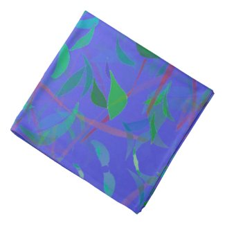 Leafy Design on Bandana