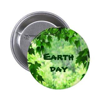 Leafy Earth Day Pins