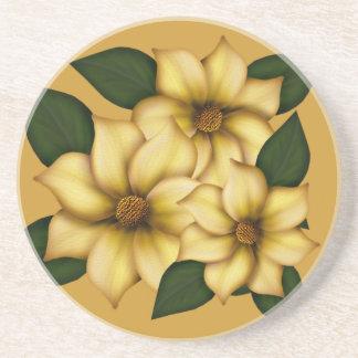 Leafy Floral Coaster
