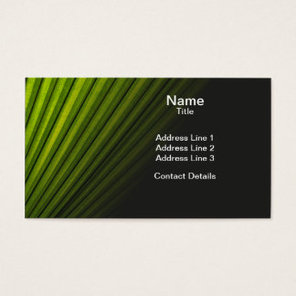 Leafy Frond Business Card